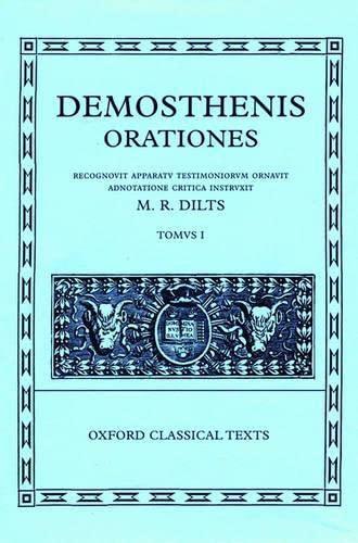 9780198721680: Demosthenis Orationes: Tomus I (Oxford Classical Texts) (Vol 1)