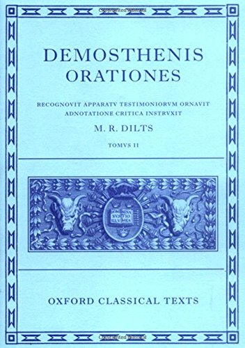 9780198721697: Demosthenis Orationes II: Tomus II (Oxford Classical Texts) (v. 2)