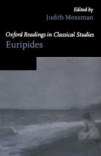 9780198721840: Oxford Readings in Euripides (Oxford Readings in Classical Studies)