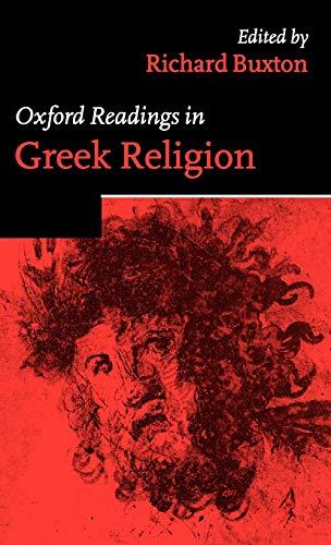 9780198721918: Oxford Readings in Greek Religion (Oxford Readings in Classical Studies)