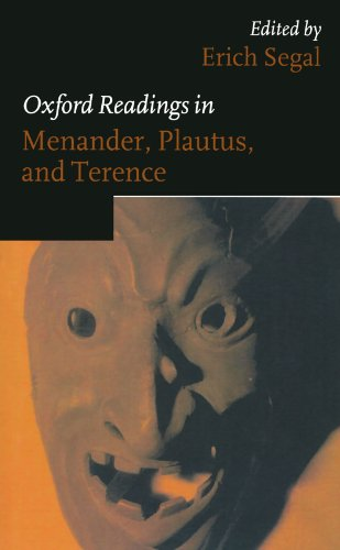 9780198721932: Oxford Readings in Menander, Plautus, and Terence (Oxford Readings in Classical Studies (Paperback))