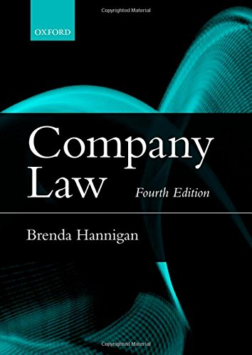 9780198722861: Company Law