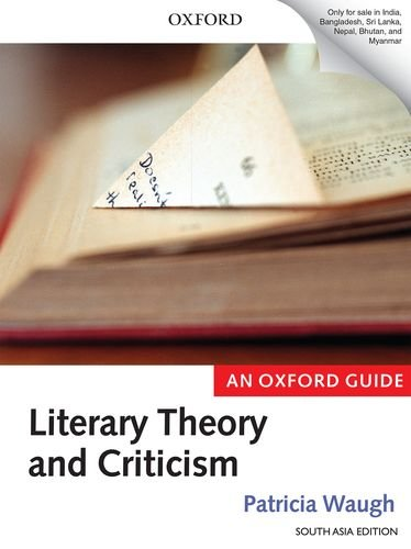 9780198723851: LITERARY THEO & CRITICISM