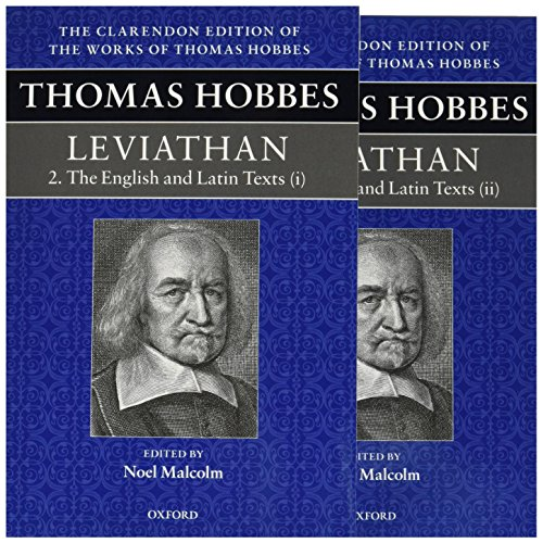9780198723967: Thomas Hobbes: Leviathan: The English and Latin Texts (Clarendon Edition of the Works of Thomas Hobbes)