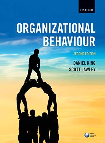 9780198724025: Organizational Behaviour, 2nd Ed.