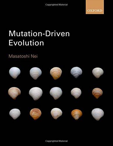 9780198724100: Mutation-Driven Evolution