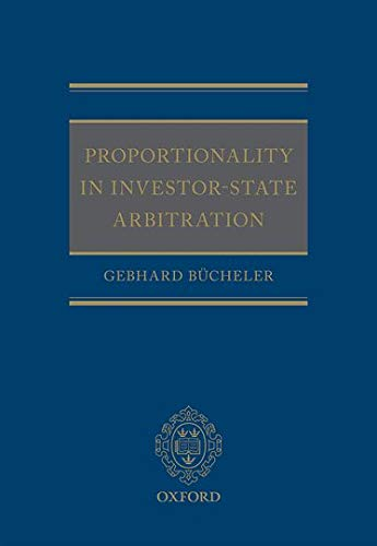 9780198724339: Proportionality in Investor-State Arbitration