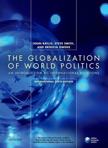 9780198725848: The Globalization of World Politics