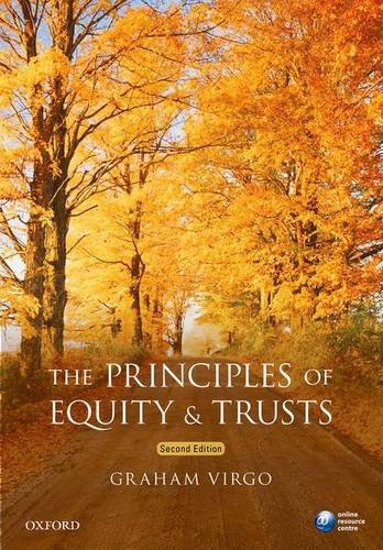 Principles of Equity and Trusts: Virgo, Graham