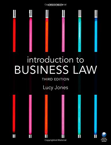 9780198727330: Introduction to Business Law