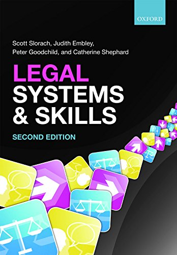 Legal Systems and Skills: Scott Slorach, Judith Embley, Peter Goodchild and Catherine Shephard