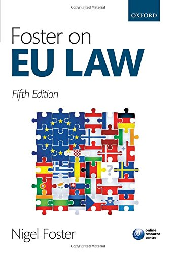 9780198727590: Foster on EU Law