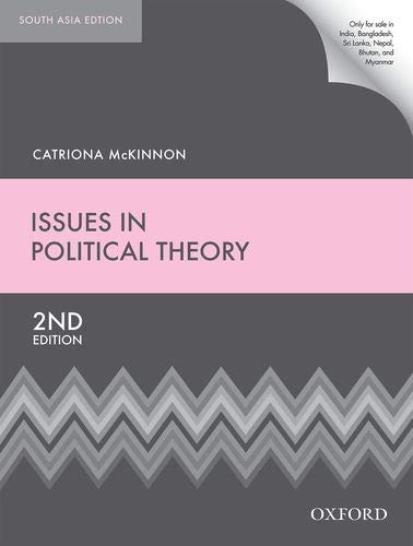 9780198728092: Oxford Up Issues In Pol Theor 2E