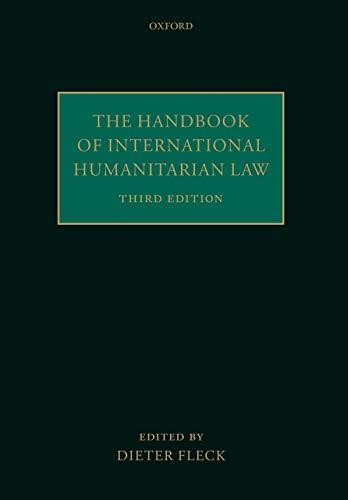 9780198729280: The Handbook of International Humanitarian Law