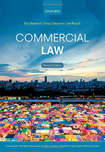 9780198729358: Commercial Law