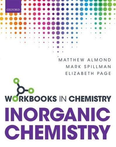 Workbook in Inorganic Chemistry (Workbooks In Chemistry): Page, Elizabeth