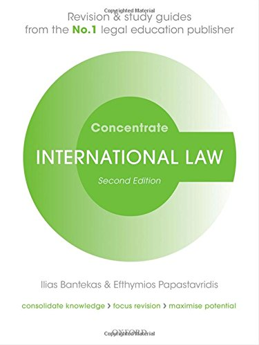 9780198729679: International Law Concentrate: Law Revision and Study Guide