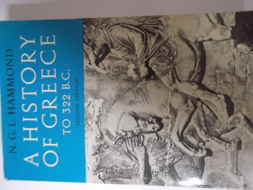 9780198730194: History of Greece to 322 B.C.