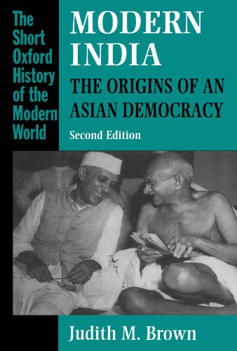 Modern India: The origins of an Asian democracy