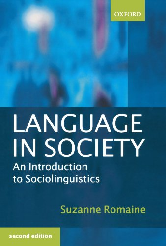 9780198731924: Language in Society: An Introduction to Sociolinguistics