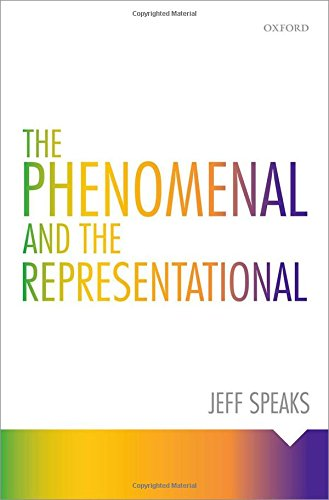 9780198732556: The Phenomenal and the Representational