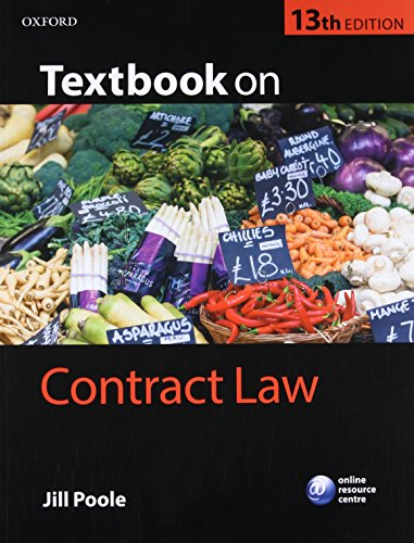 9780198732808: Textbook on Contract Law