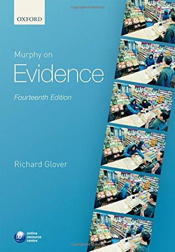 9780198733331: Murphy on Evidence