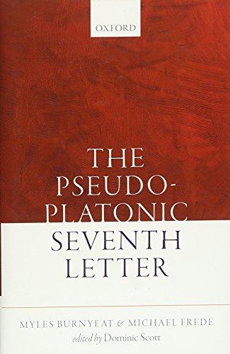 The Pseudo-Platonic Seventh Letter Format: Hardcover: Myles Burnyeat