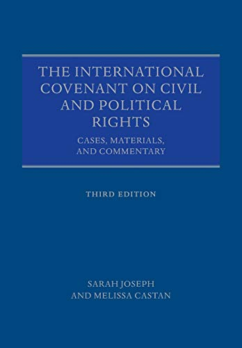 9780198733744: The International Covenant on Civil and Political Rights: Cases, Materials, and Commentary