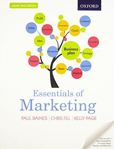 9780198734765: FAST SHIP - BAINES PAGE 1e Essentials of Marketing BA5