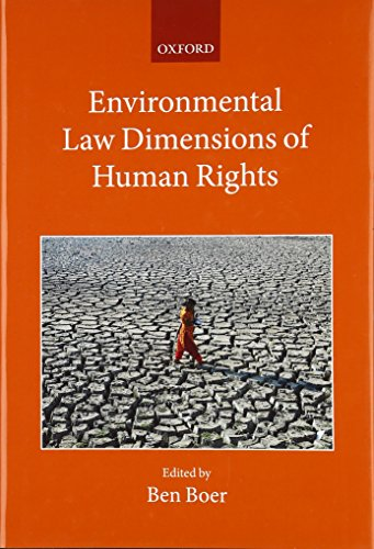 9780198736141: Environmental Law Dimensions of Human Rights