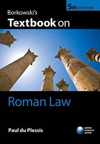 9780198736226: Borkowski's Textbook on Roman Law