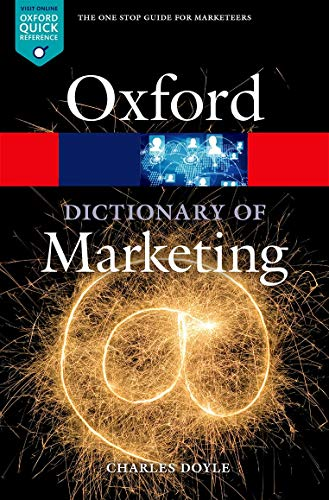 9780198736424: A Dictionary of Marketing (Oxford Quick Reference)
