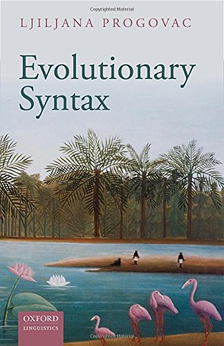 9780198736547: Evolutionary Syntax (Oxford Studies in the Evolution of Language)