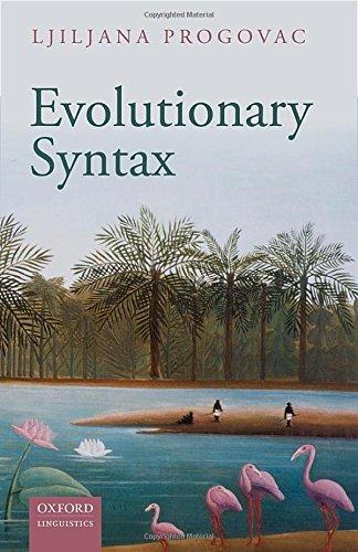 9780198736547: Evolutionary Syntax