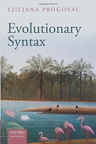9780198736554: Evolutionary Syntax