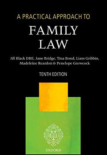 9780198737605: A Practical Approach to Family Law