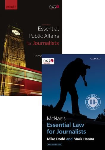 9780198737643: McNae's Essential Law for Journalists & Essential Public Affairs for Journalists Pack