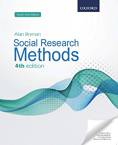 9780198738015: SOCIAL RESEARCH METHODS 4TH EDITION