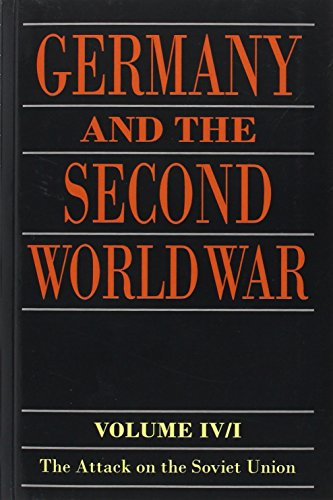 9780198738312: Germany and the Second World War: Volume IV: The Attack on the Soviet Union