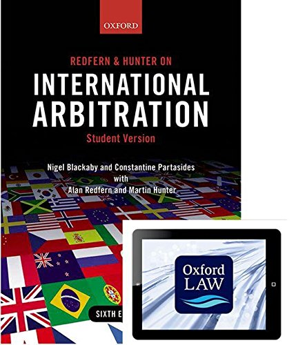 9780198738879: Redfern and Hunter on International Arbitration (paperback and eBook)