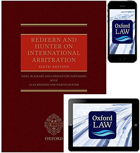 9780198738886: Redfern and Hunter on International Arbitration (Hardback, eBook and iOS App)