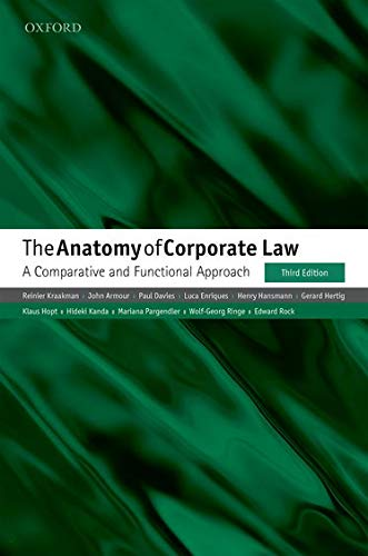 The Anatomy of Corporate Law: A Comparative: Reinier Kraakman, John