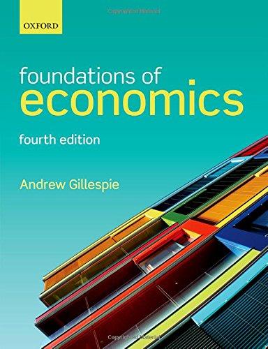 9780198739883: Foundations of Economics