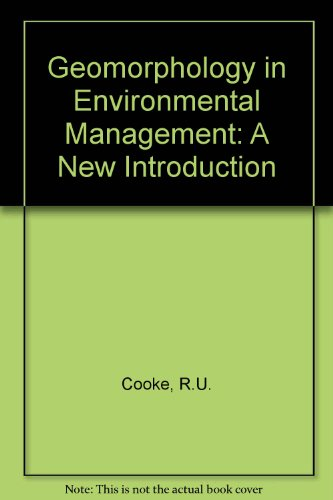 9780198741503: Geomorphology in Environmental Management: A New Introduction