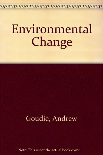 9780198742173: Environmental Change