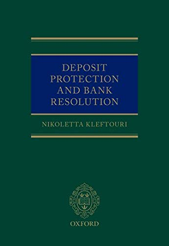 9780198743057: Bank Resolution and Deposit Protection