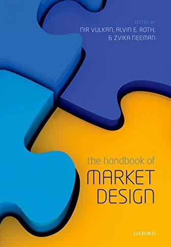 9780198743774: The Handbook of Market Design