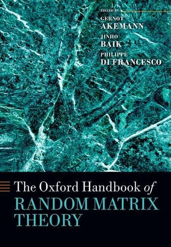 9780198744191: The Oxford Handbook of Random Matrix Theory (Oxford Handbooks)