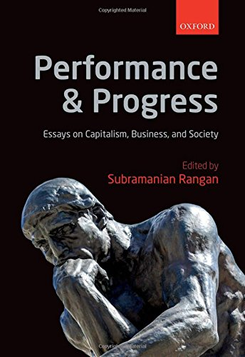 9780198744283: Performance and Progress: Essays on Capitalism, Business, and Society
